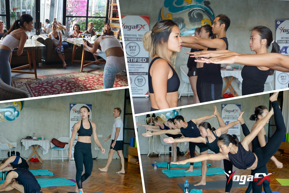 bikram yoga teaching practice